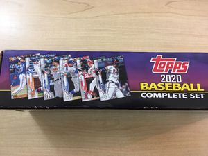 Complete set of Topps 2020 700 Baseball Cards for Sale in Denver, CO