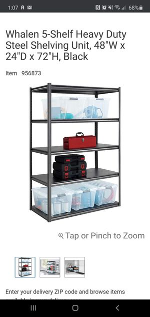 Metal shelving for Sale in Dallas, TX