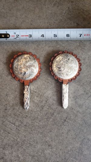 Saddle Pad conchos set of 2 for Sale in Issaquah, WA