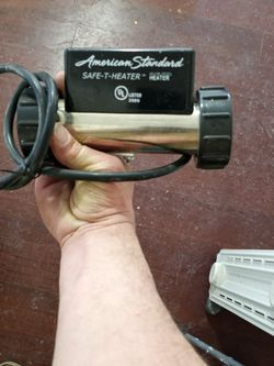 Inline AMERICAN STANDARD Heater For Juczi/hot Tub for Sale in Fort Worth,  TX