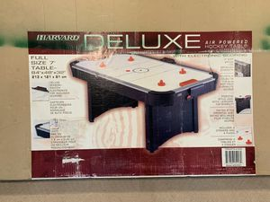 powered Air hockey table by Harvard for Sale in FX STATION, VA