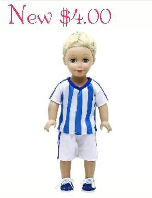 New Soccer Outfit for American Girl Dolls for Sale in Modesto, CA