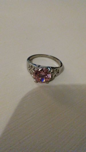 Pink ring size 7 for Sale in Harper Woods, MI