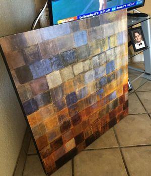 Wall art in guc size 29 3/4 in X 29 3/4 in ( 7.5 cm X 7.5 cm) for Sale in Fontana, CA
