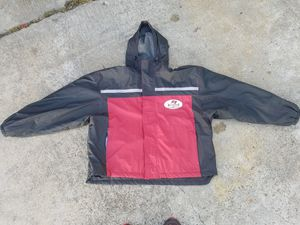 Tampa bay Buccaneers hoodie jacket $30 (good condition) (size L) for Sale in Houston, TX