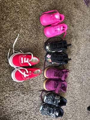 Nike, New Balance, and Vans toddler shoes for Sale in Killeen, TX