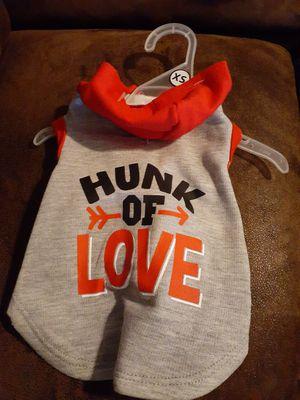 Hunk of love doggie hoodie for Sale in Tulsa, OK