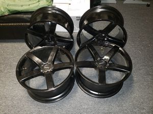 "20"" Ruff racing R1 black satin rim for Sale in Riverview, FL"