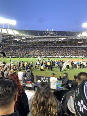 Oakland raiders vs DETROIT Lions 11/3 for Sale in Hercules, CA