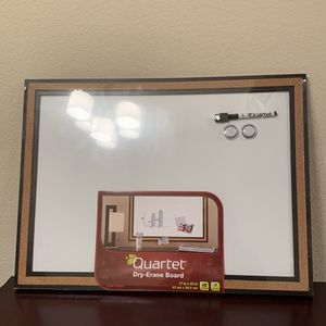 (Orig $30) quarter dry erase board 17x23 for Sale in Lakewood, CO