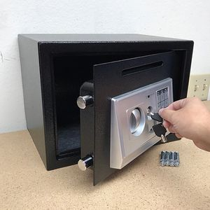 "(NEW) $55 Depository 14""x10""x10"" Digital Security Safe Box Electric Keypad Lock w/ Master Key for Sale in El Monte, CA"