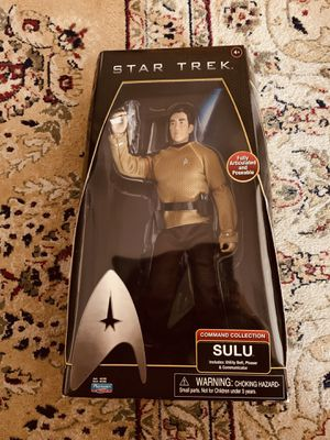 Star Trek Sulu Action Figure Collectibles for Sale in Saint Petersburg, FL