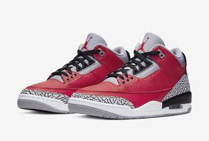 Air Jordan 3 Retro SE Unite Fire Red Mens Size 8.5 100% Authentic for Sale in Brier, WA