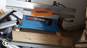 Ryobi 6 1/8 variably speed Bench top Jointer Planer for Sale in Hermon, ME