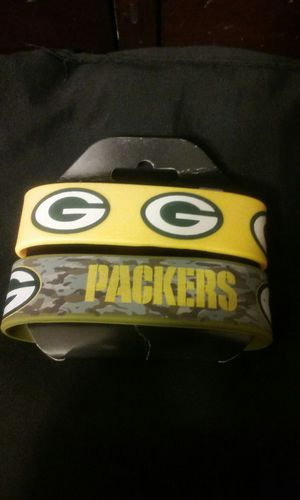 Green Bay Packers Rubber Bracelets New for Sale in Santa Ana, CA