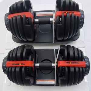 Adjustable Dumbbells 5-52, Brand New for Sale in Santa Ana, CA