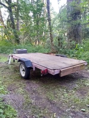 4 by 8 utility trailer for Sale in Beaverton, OR