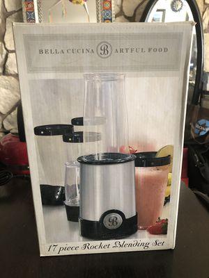 Bella cucina 17 piece rocket blender set - new in box for Sale in Seattle, WA