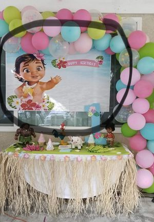 Baby Moana decorations for Sale in Ontario, CA
