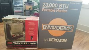 Camping heater and space heater for Sale in Murfreesboro, TN