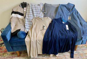 Men's designer jacket sweater shirt lot size XXL Michael Kors Inc Calvin Klein Tommy Hilfiger for Sale in Glendora, CA