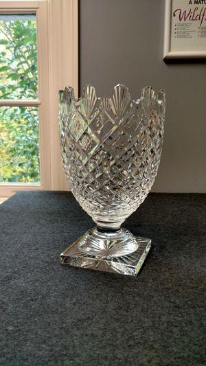 "Waterford Pedestal Crystal Vase 10.25"" Scallop for Sale in Allendale, NJ"