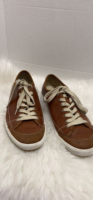 Cole Haan Nike air Men shoes s size 12 M Brown Leather for Sale in Dearborn, MI
