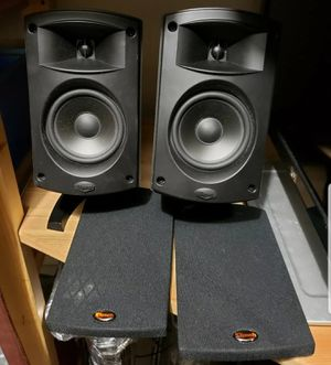 Klipsch satelite monitor speakers quaint 2 for Sale in Missouri City, TX