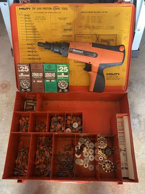 ITW Ramset D45 Power Fastening Tool - With Case for Sale in Chula Vista, CA