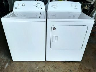 Washer and Dryer Whirlpool/Kenmore (FREE DELIVERY & INSTALLATION) for Sale in Hialeah,  FL