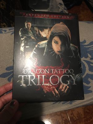 Dragon tattoo trilogy for Sale in Los Angeles, CA