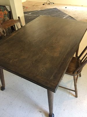 Solid wood kitchen table OBO for Sale in Dinuba, CA
