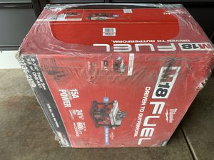 Milwaukee m18 table saw new! for Sale in Orient, OH