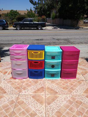 Plastics drawers for Sale in El Monte, CA
