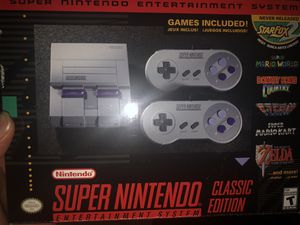 Super Nintendo Mini for Sale in Eastpointe, MI