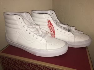 10.5 Vans OTW: All- White Leather for Sale in Oakland, CA