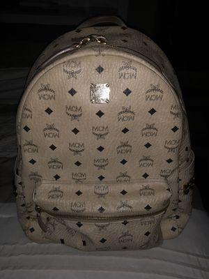 MCM Backpack beige color way for Sale in Lawrenceville, GA