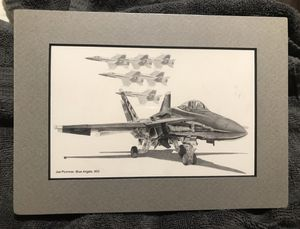 Blue Angels F18 Small Art Photo for Sale in Lake Forest, CA