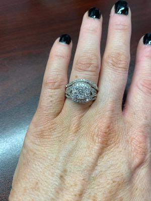 14ct white gold diamond wedding set for Sale in Douglasville, GA