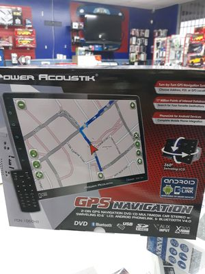 """10.1"""" BLUETOOTH CAR Stereo Touch Screen CD DVD Bluetooth Navigation for Sale in Houston, TX"""
