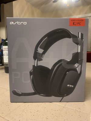 Astro Gaming Headphones A40 for PC for Sale in Chula Vista, CA