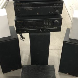 Complete Vintage Surround Sound System for Sale in Los Alamitos, CA
