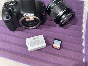 Canon EOS Rebel T3i 18.7 MP Digital SLR Camera - Black for Sale in Lynn, MA