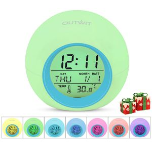 New 7 Color Changing Light Bedside Clock for Children for Sale in Hacienda Heights, CA