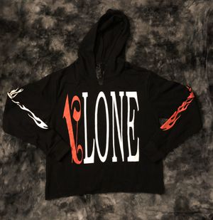 Vlone x Palms Angles Black & Red Hoodie for Sale in Washington, DC