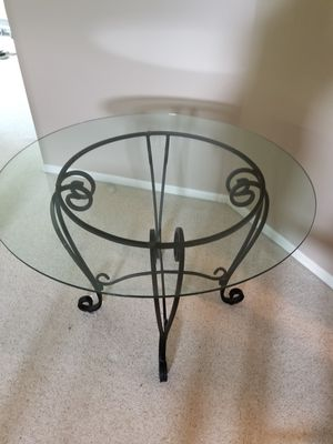 Glass Top table from Pier I for Sale in West Mifflin, PA