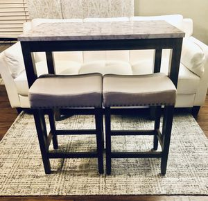 ⭐️New 3pc. Dining set kitchen pub Table. PICK UP BY ASHLAN AND TEMPERANCE IN CLOVIS for Sale in Clovis, CA