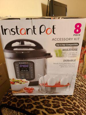 instant pot 8 piece accessory kit for Sale in Rialto, CA