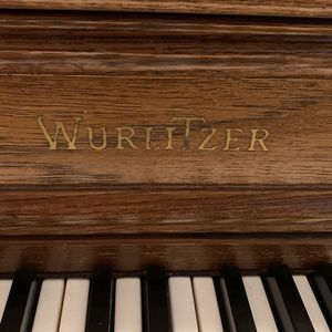 Pecan Wood Piano With Dehydration Plug In for Sale in Port St. Lucie, FL