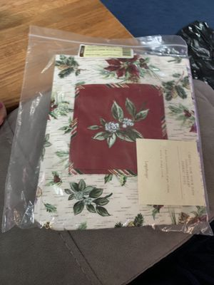 NEW! Longaberger 2006 Holiday Tote Bag #23379 (Holiday Botanical Pattern) for Sale in Bel Air, MD